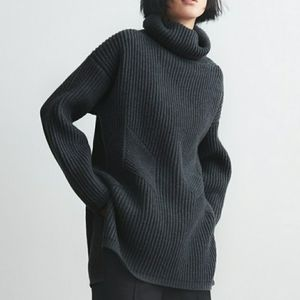 Thakoon Chunky Turtleneck Sweater Size L